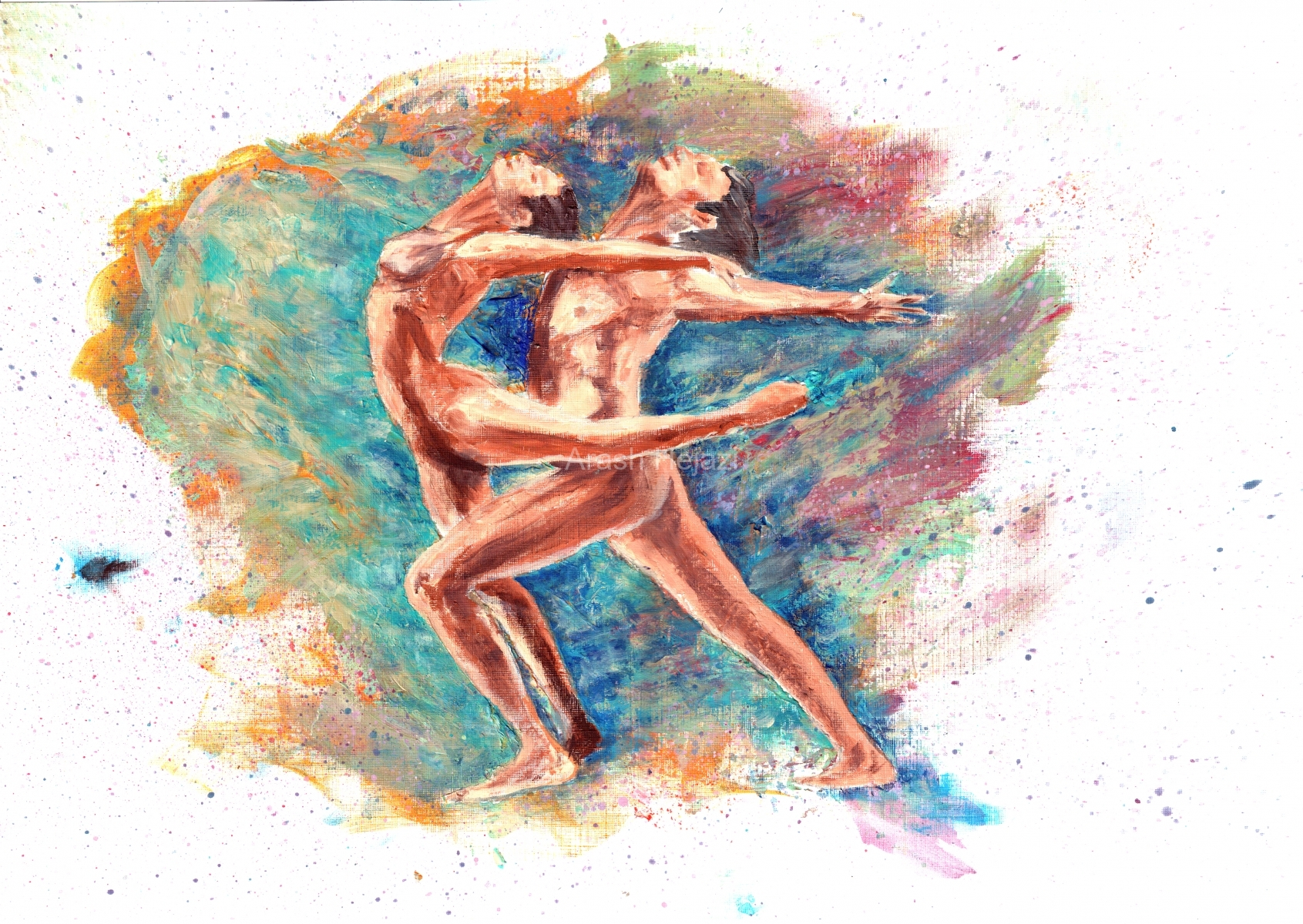 Dancers- Arash Hejazi - 2019