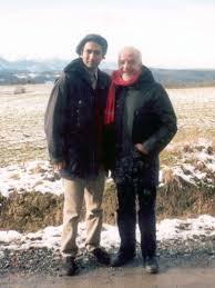 Paulo Coelho & Arash Hejazi, January 2000, Tarbes, France