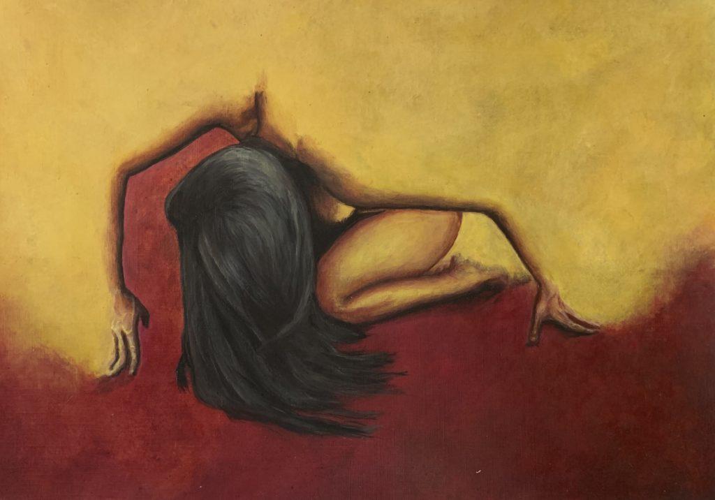 Woman in Yellow and Red ©️Arash Hejazi